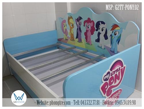 Giường tầng thấp My Little Pony - Friendship is magic
