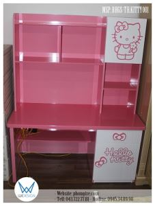 Bàn học tiểu học Hello Kitty BHGS-TH.KITTY001